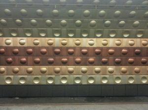 Eine der Metro-Stationen wurde von Daleks übernommen.